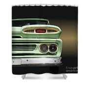 Us Classic Car Pickup 1960 Shower Curtain