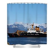 Us Coast Guard Shower Curtain