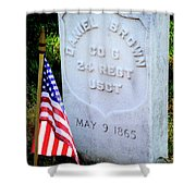 Us Colored Troops Shower Curtain