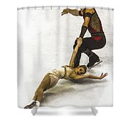 U.s. Figure Skating Championships  Shower Curtain