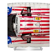 Us Mail Shower Curtain