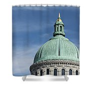 U.s. Naval Academy Chapel Dome Shower Curtain