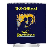 U.s. Official War Pictures Shower Curtain