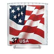 U.s. Postage Stamp, 2003 Shower Curtain