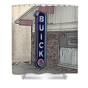 Us Route 66 Smaterjax Dwight Il Buick Signage Pa 04 Shower Curtain