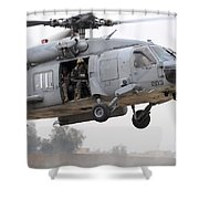 U.s. Special Forces Conduct Assault Shower Curtain