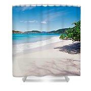 Us Virgin Islands, St. John, Cinnamon Shower Curtain