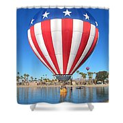 Usa Balloon Shower Curtain