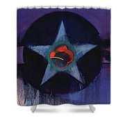 Usaaf Lilac Shower Curtain