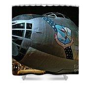 Usaf Museum B-36 Cold War Shower Curtain