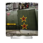 Usaf Museum F-4 Mig Killer Shower Curtain