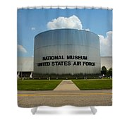 Usaf Museum  Shower Curtain