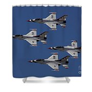 Usaf Thunderbirds Shower Curtain