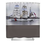 U S C G  Eagle Shower Curtain