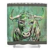 Usf Bull Shower Curtain