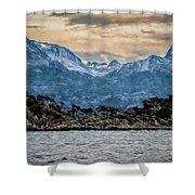 Ushuaia Ar 9 Shower Curtain