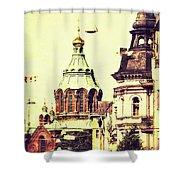 Uspenski Cathedral Shower Curtain