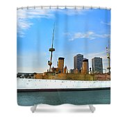 Uss Olympia Shower Curtain