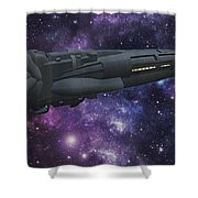Uss Solisice Shower Curtain by Don Perino