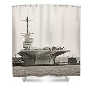 Uss Yorktown Shower Curtain