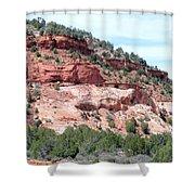 Utah 9 Shower Curtain