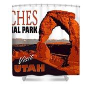Utah, Arches, National Park Shower Curtain