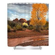 Utah Autumn Shower Curtain