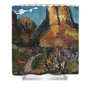 Utah Canyon Shower Curtain