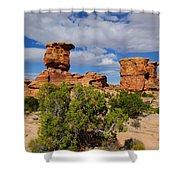 Utah Canyonlands Shower Curtain