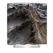 Utah Moonscape Shower Curtain