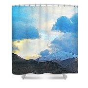 Utah Mountains Shower Curtain