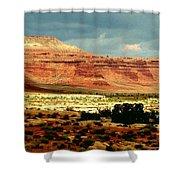 Utah Plateau Mtn M 302 Shower Curtain