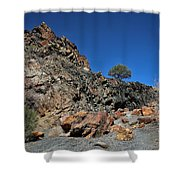 Utah Rocks Shower Curtain