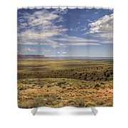 Utah Sky Shower Curtain