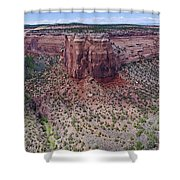 Ute Canyon Shower Curtain