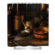 Utensils - Colonial Utensils Shower Curtain