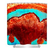 Uterus Shower Curtain