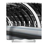 Utopia Station Shower Curtain