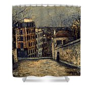 Utrillo: Mont-cenis Shower Curtain