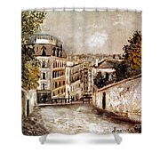 Utrillo: Montmartre, 20th C Shower Curtain