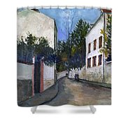 Utrillo: Sannois, 1912 Shower Curtain