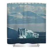 Uummannaq Ice Shower Curtain
