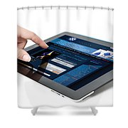 Ux-ui Design Services  Shower Curtain
