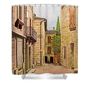 Uzes, South Of France Shower Curtain