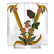 V Is For Vision Shower Curtain