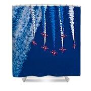 Vaaazooooom Shower Curtain