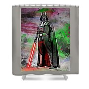 Vader Abstract Shower Curtain