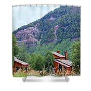 Vail Landscape Shower Curtain