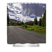 Vail Road Shower Curtain