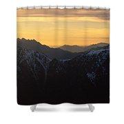 Val Brembana Shower Curtain